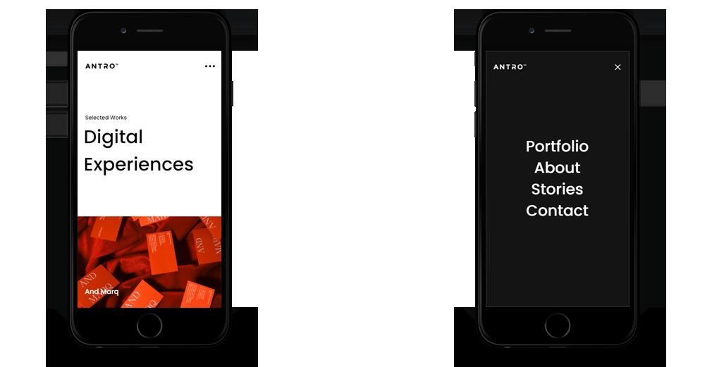 antro WordPress Theme Responsive Mobile