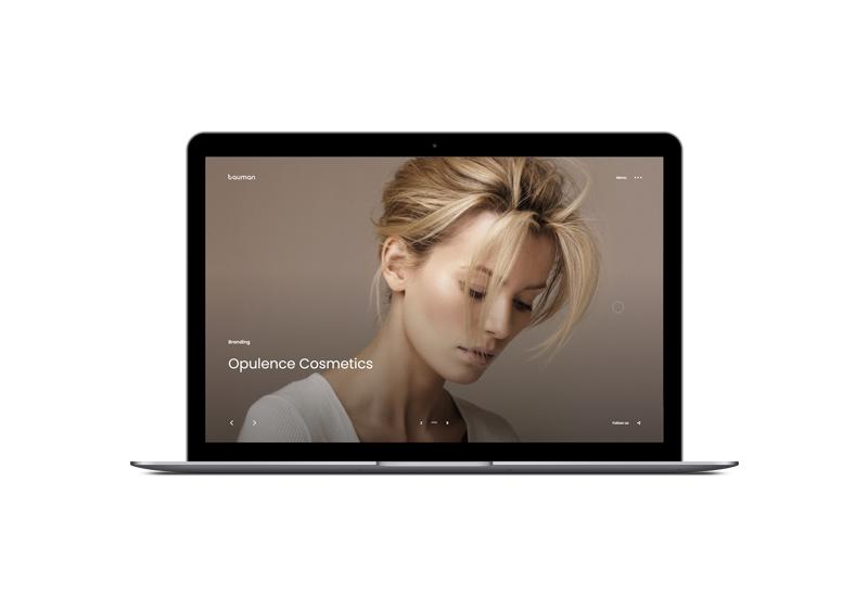 bauman Portfolio WordPress Theme by ClaPat