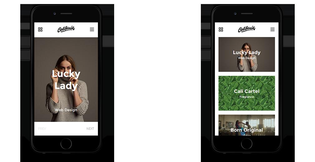 California WordPress Theme Responsive Mobile