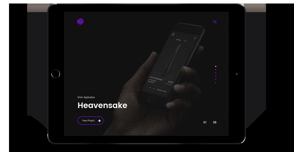 Cubez WordPress Theme Responsive Tablet