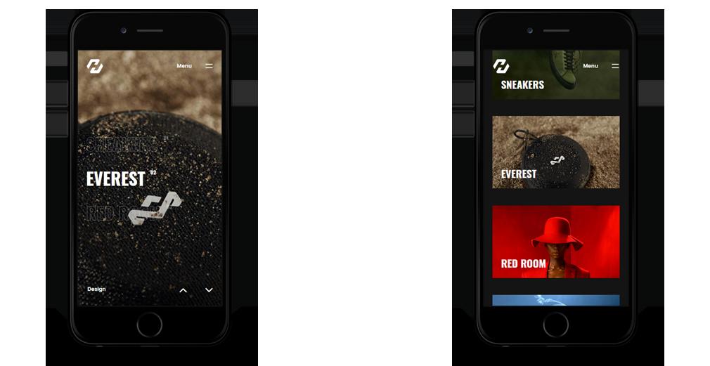 hervin WordPress Theme Responsive Mobile