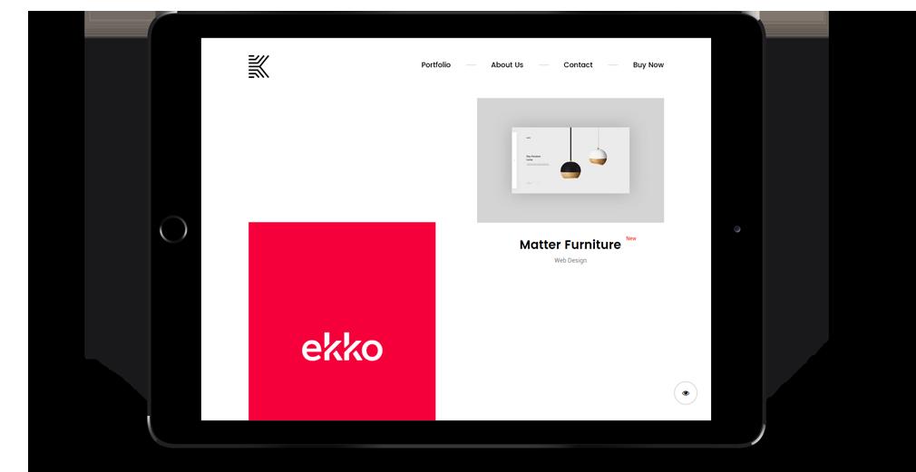 Kaleo WordPress Theme Responsive Tablet