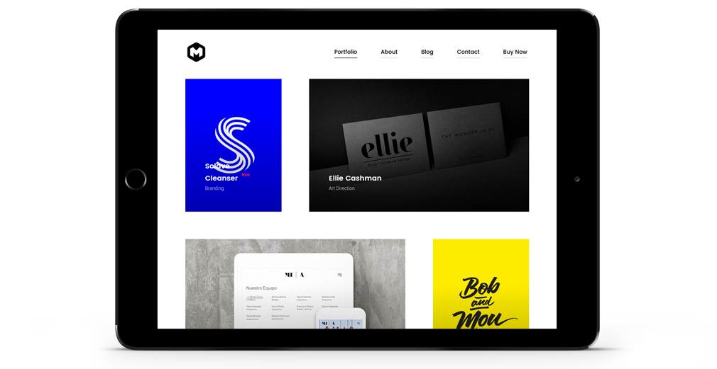 Maestro WordPress Theme Responsive Tablet
