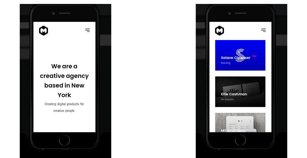 Maestro WordPress Theme Responsive Mobile