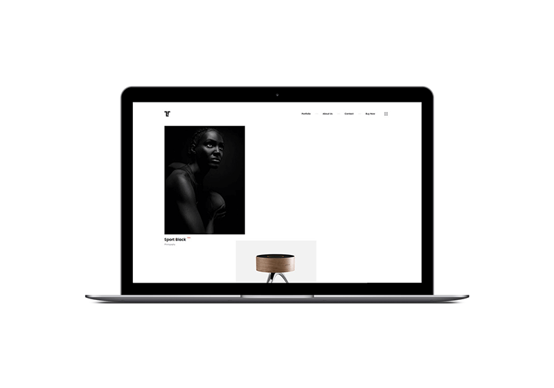 Tetriz Portfolio WordPress Theme by ClaPat