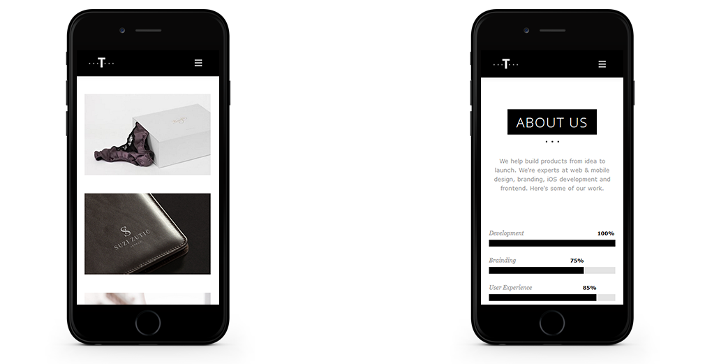 Trent WordPress Theme Responsive Mobile