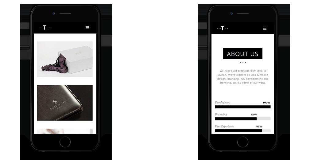 Trent WordPress Theme Responsive Mobile